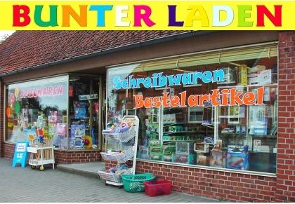 Bunter Laden Handel mit Spielwaren