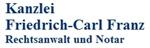 Friedrich-Carl Franz Rechtsanwalt und Notar